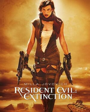 Resident evil extinction cover