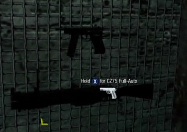 CZ75 wall