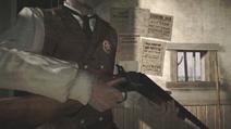 Double Barreled shotgun