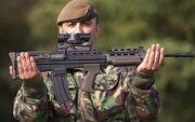SA80 rifle 1358335c