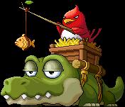 怪物 沼澤巨鱷