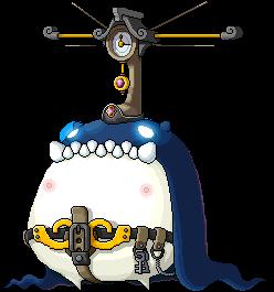 怪物 巨型战斗机