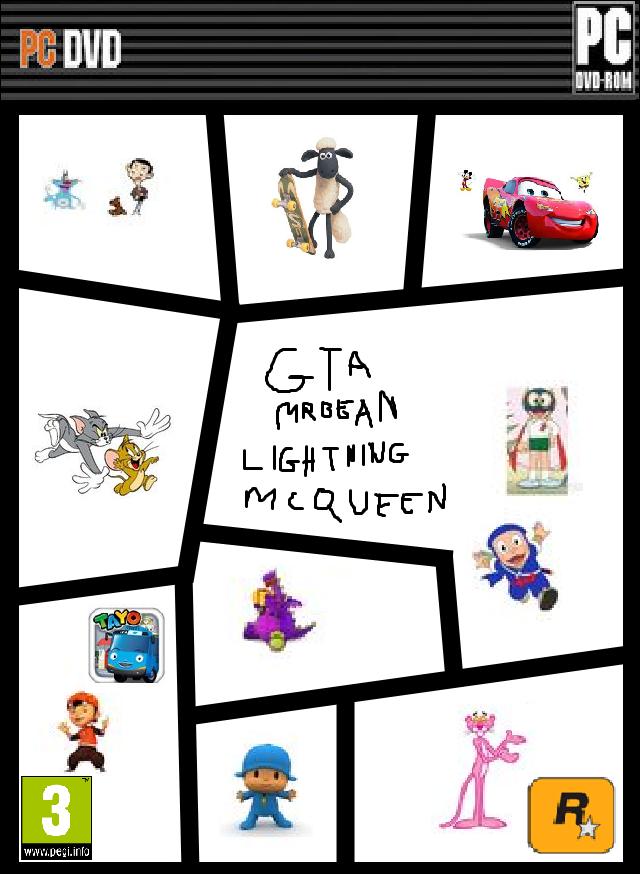 image 19kzo4m gta mr bean lightning mcqueen template box art game