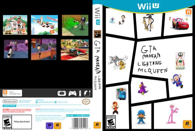 Image Wii U Box Art Game Cover Case Template By Gta Mr Bean
