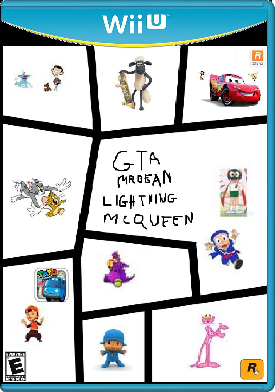 Image Wii U Box Pngwii U Make Believe Game Case Game Cover Box Art