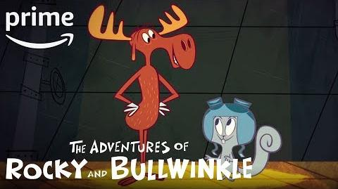 The Adventures of Rocky and Bullwinkle - Official Trailer Amazon Kids