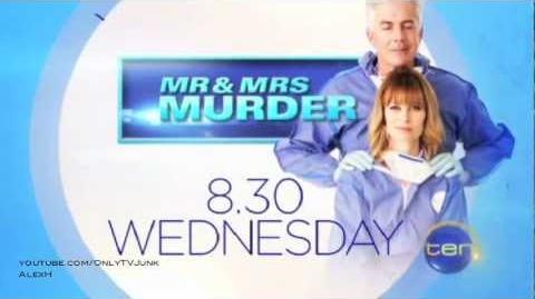 Mr and Mrs Murder Episode 2 Channel Ten Promo