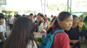 Langatian National High School Nutrition Month Celebration