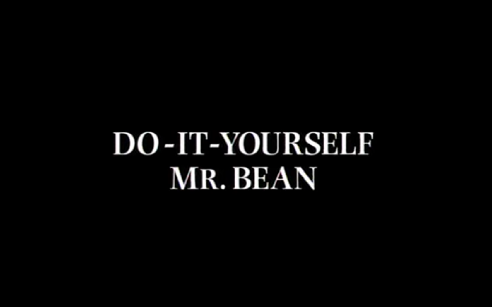 Do it yourself mr bean mr bean wiki fandom powered by wikia do it yourself mr bean solutioingenieria Choice Image