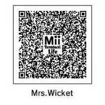 Mrs. Wicket Tomodachi QR