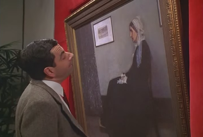 Mr bean character mr bean wiki fandom powered by wikia mr bean whistlers mother solutioingenieria Images