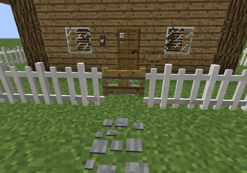 Fence White MrCrayfishs Furniture Mod Wiki FANDOM powered by