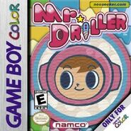 Mr. Driller EU and US gbc cover