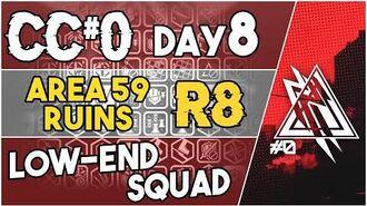 【明日方舟 Arknights】 CC Day 8 - Area 59 Ruins Risk 8 - Low End Squad - Arknights Strategy