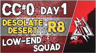 【明日方舟 Arknights】 CC Day 1 - Desolate Desert Risk 8 - Low End Squad - Arknights Strategy