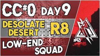 【明日方舟 Arknights】 CC Day 9 - Desolate Desert Risk 8 - Low End Squad - Arknights Strategy