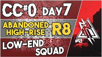 【明日方舟 Arknights】 CC Day 6 - Abandoned High Rise Risk 8 - Low End Squad - Arknights Strategy