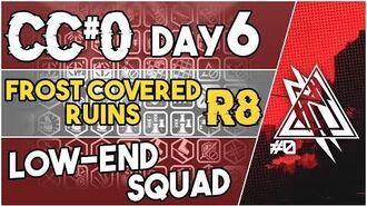 【明日方舟 Arknights】 CC Day 6 - Frost Covered Ruins Risk 8 - Low End Squad - Arknights Strategy