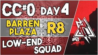 【明日方舟 Arknights】 CC Day 4 - Barren Plaza Risk 8 - Low End Squad - Arknights Strategy