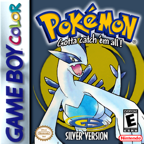 Pokemon Silver Game Cover