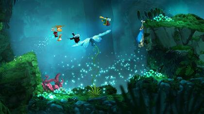 Rayman Origins - Jibberish Jungle