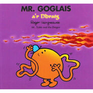 Mr. Tickle and the Dragon Welsh Cover