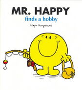 Mr Happy finds a hobby recent
