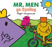 Mr. Men go Cycling Cover