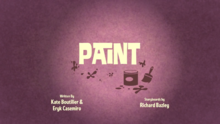 Paint Title Card