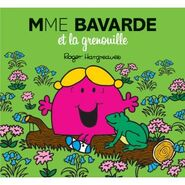 Little Miss Chatterbox and the Frog Prince French Cover
