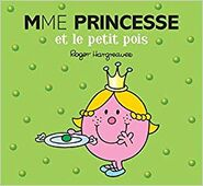 Little Miss Princess and the pea French Cover