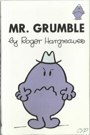 Mr Grumble cassette cover