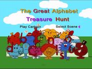 Mr Men Great Alphabet Hunt DVD Menu