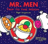 Mr. Men Trip To the Moon Glow In the Dark Cover