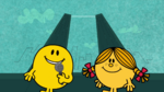 Mr Happy Miss Sunshine Skyscrappers