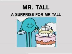 A Surprise for Mr Tall 1