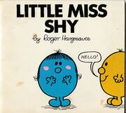 Little Miss Shy first edition