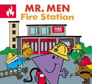 Mr. Men Fire Station Cover