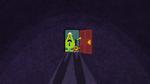 Mr small mr nosey dark door