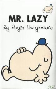 Mr Lazy cassette cover