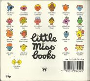 Little miss early 90's back cover
