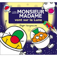 Mr. Men a Trip to the Moon French cover