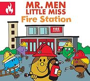 Mr. Men and Little Miss Fire Station front cover