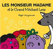 The Three Little Misses and the Big Bad Wolf French Cover
