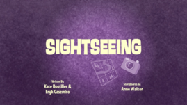 Sightseeing Title Card