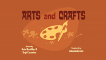 Arts and Crafts Title Card