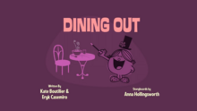 Dining Out Title Card