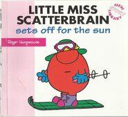 Little Miss Scatterbrain sets off for the sun 1