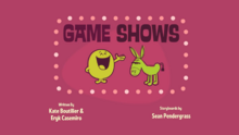 Game Shows Title Card