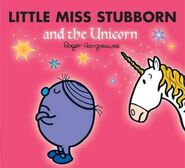 Little Miss Stubborn and the Unicorn front cover